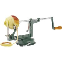 strojček, krájač, lúpač na jablká 3 v 1, s jeho pomocou ošúpete jablko, vyberete jadro a nakrájate jablká na plátky, Apfeltraum, Westmark