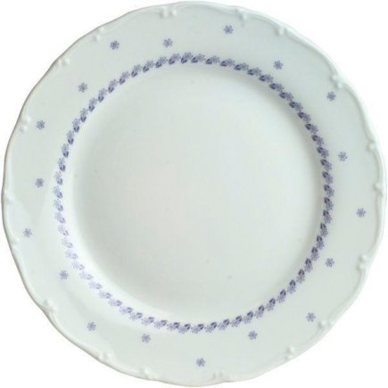 Talíř mělký 19 cm Ofelie Modrý dekor