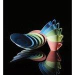 Talíř mělký 25 cm Daisy Lilien aquamarin